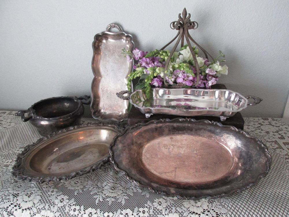 Silver Platters $4-6