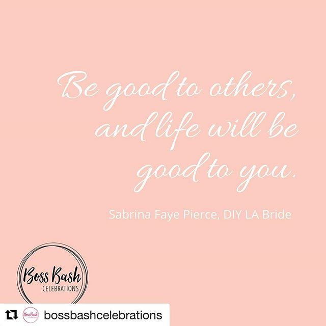 Thank to @bossbashcelebrations and all the #bossbabes involved in this movement. Give @bossbashcelebrations a follow to see what this is all about. My contributing babes are tagged in the photo. Give them a follow too! Hope to see you this Thursday at 7pm 💋 #Repost @bossbashcelebrations ・・・ Don't you just love @diy.la.bride 's mantra? A bit of karma, a dash of sugar and spice and all things nice - just like Sabrina! #bossbash #bossbashcelebrations #diylabride #bossbabe #womensupportingwomen #girlboss #getitgirl #whoruntheworld #LA #burbank #glendale #sfv #sfvalley