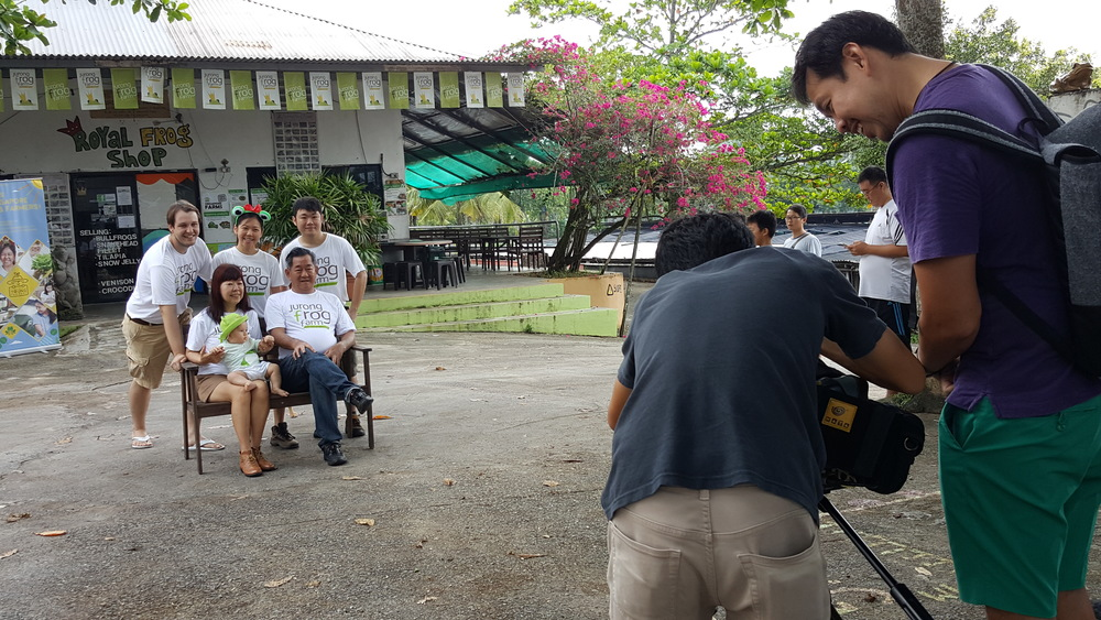 Watch out for an episode about the Kranji Countryside community on 'On The Red Dot' this coming end May!