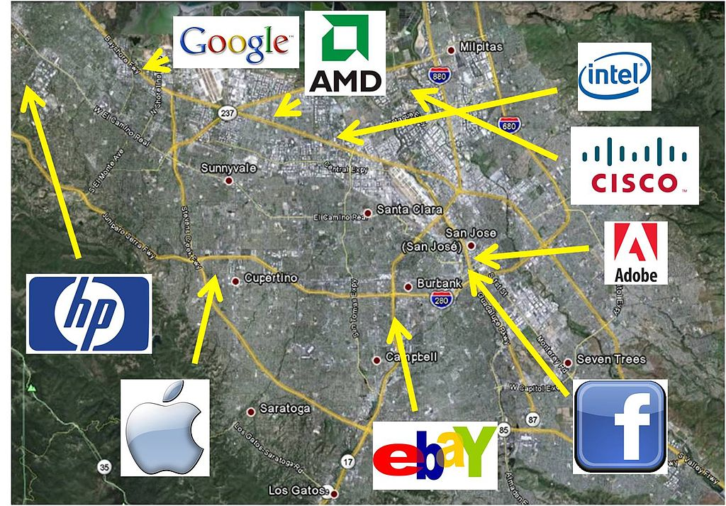 Silicon Valley Karte.Silicon Valley Is The New Wall Street Powers Education
