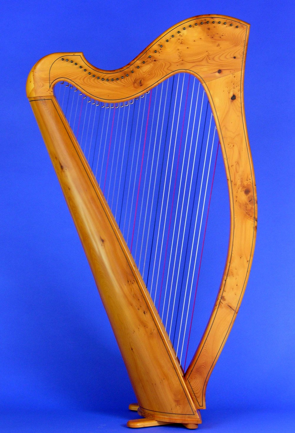 Round-Back 34 in Scottish Yew Wood