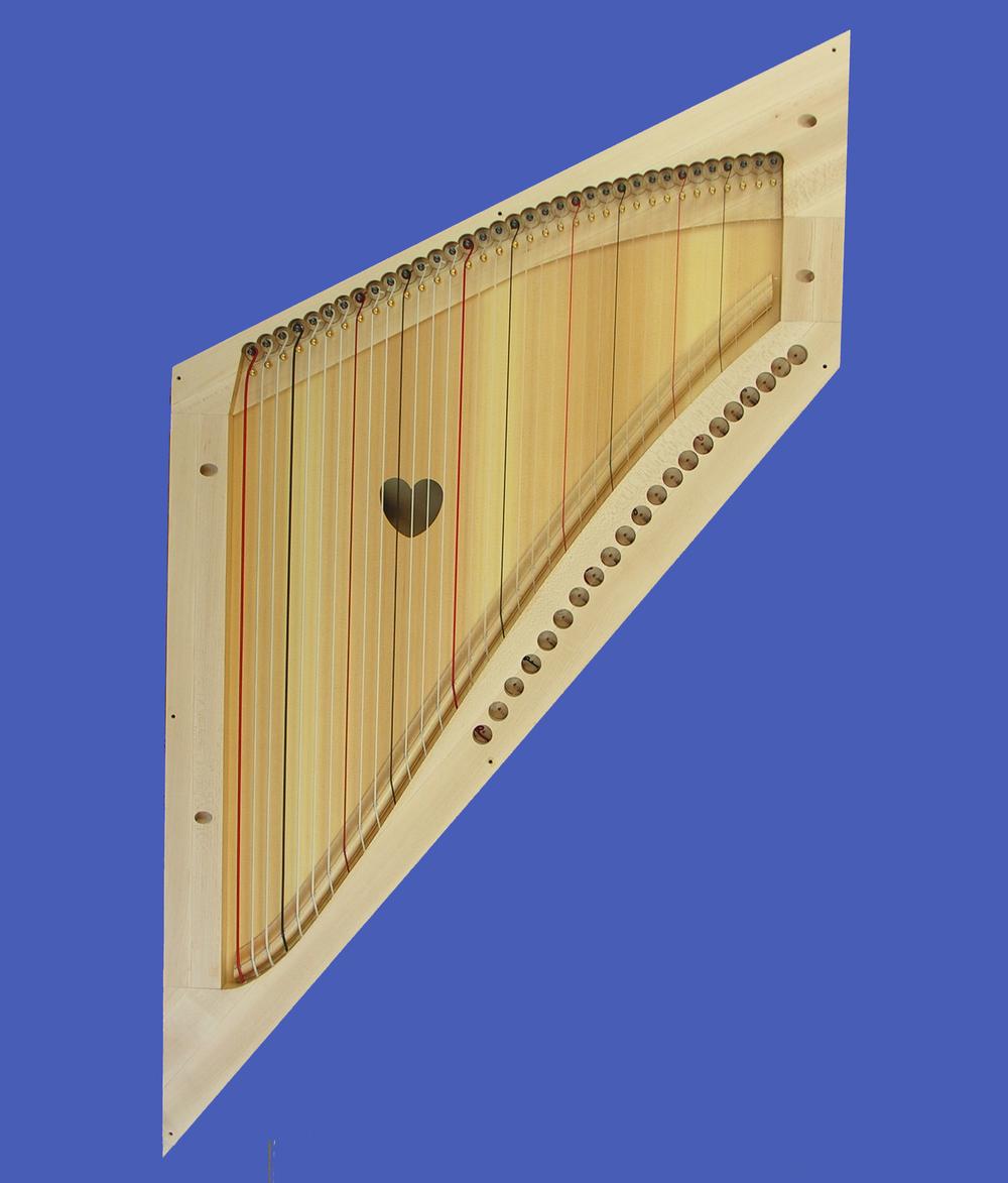 Inside the Niche Harp