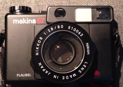 The legendary Plaubel Makina 67
