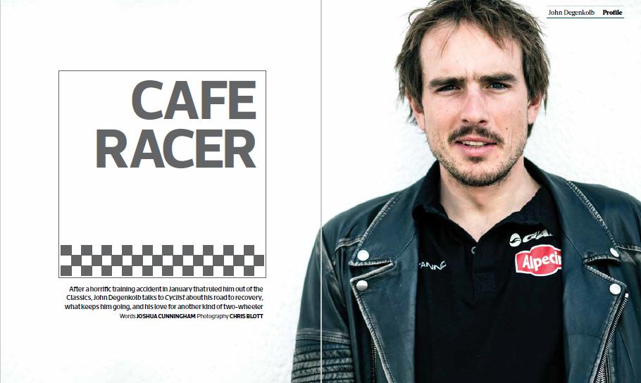 John Degenkolb feature:  Cyclist magazine . Photography: Chris Blott