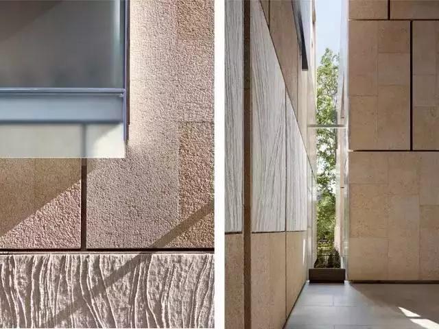 费城巴尔纳斯艺术基金会立面石材细节
