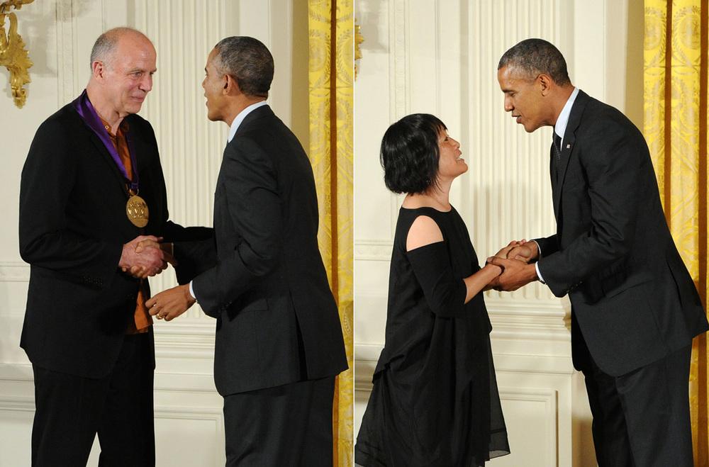 凭借在艺术和教育的杰出贡献,Tod和Billie于2013年获得由奥巴马总统亲自颁发的国家艺术奖章