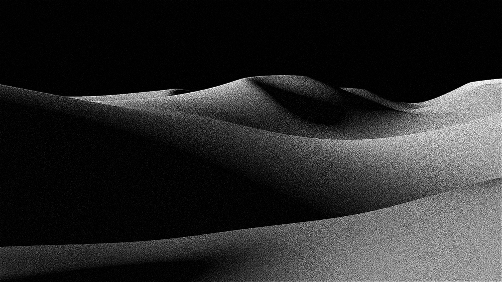 3D-modelled dunes