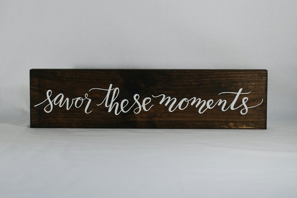 Wood Sign | Event & Home Decor