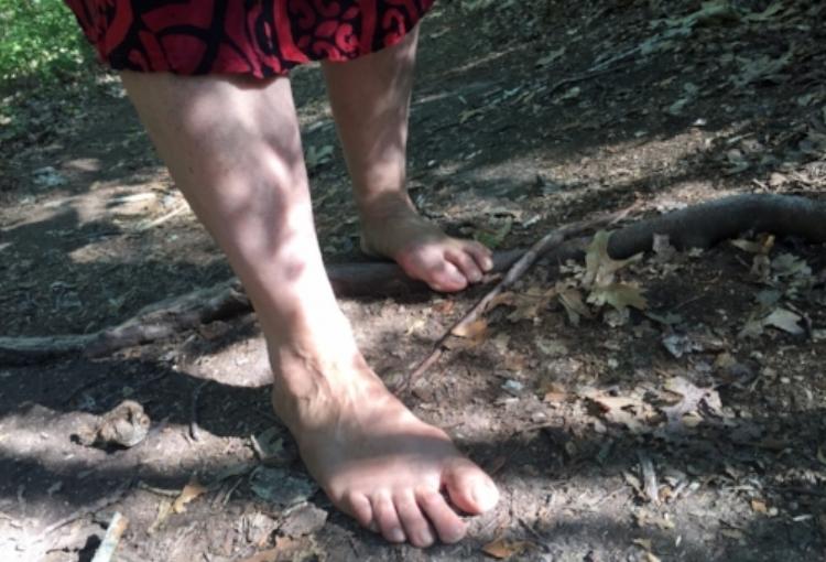 Barefoot walking.JPG