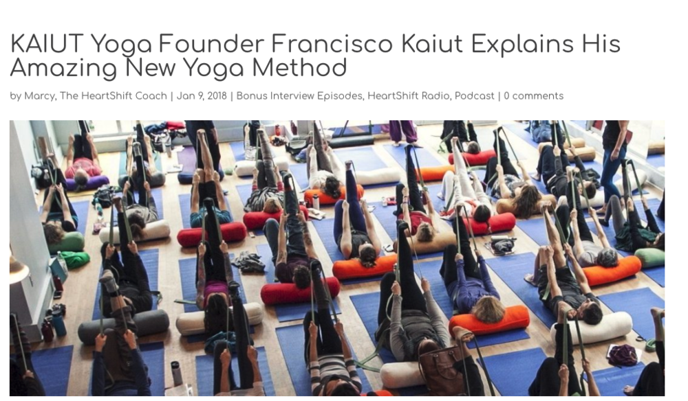 Kaiut Yoga Founder Explains His Amazing New Method