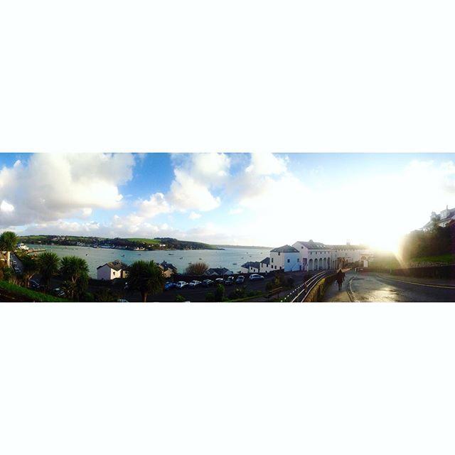 What a wonderful morning walk to  work #view #ocean #outdoors #freshair #serenity #hellovaview #love_cornwall