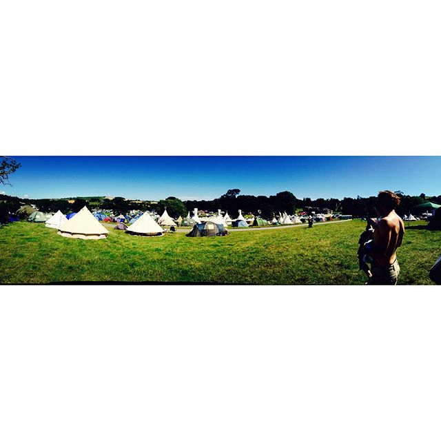 Is it festival season yet?! #festival #tipisfordays #camping #summer #funtimes @porteliotfestival