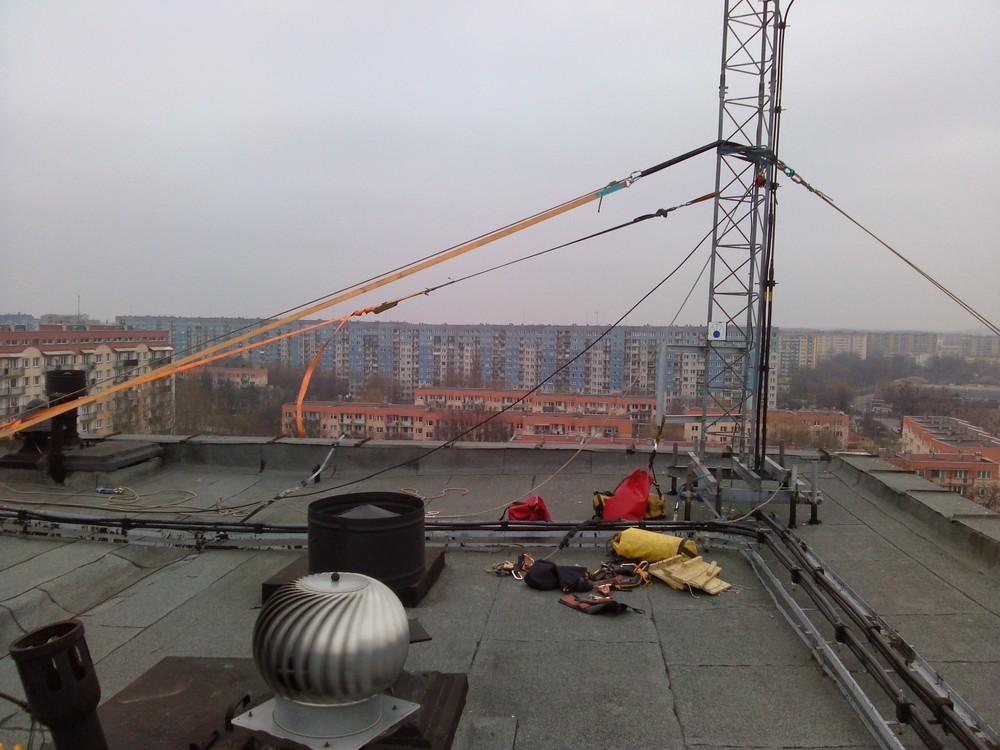 montaż szaf telekomunikacyjnych Łódź alpiniści