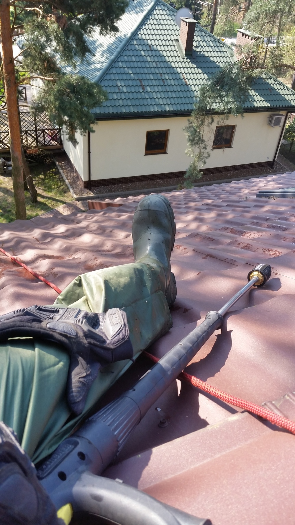 czyszczenie dachów sokolniki