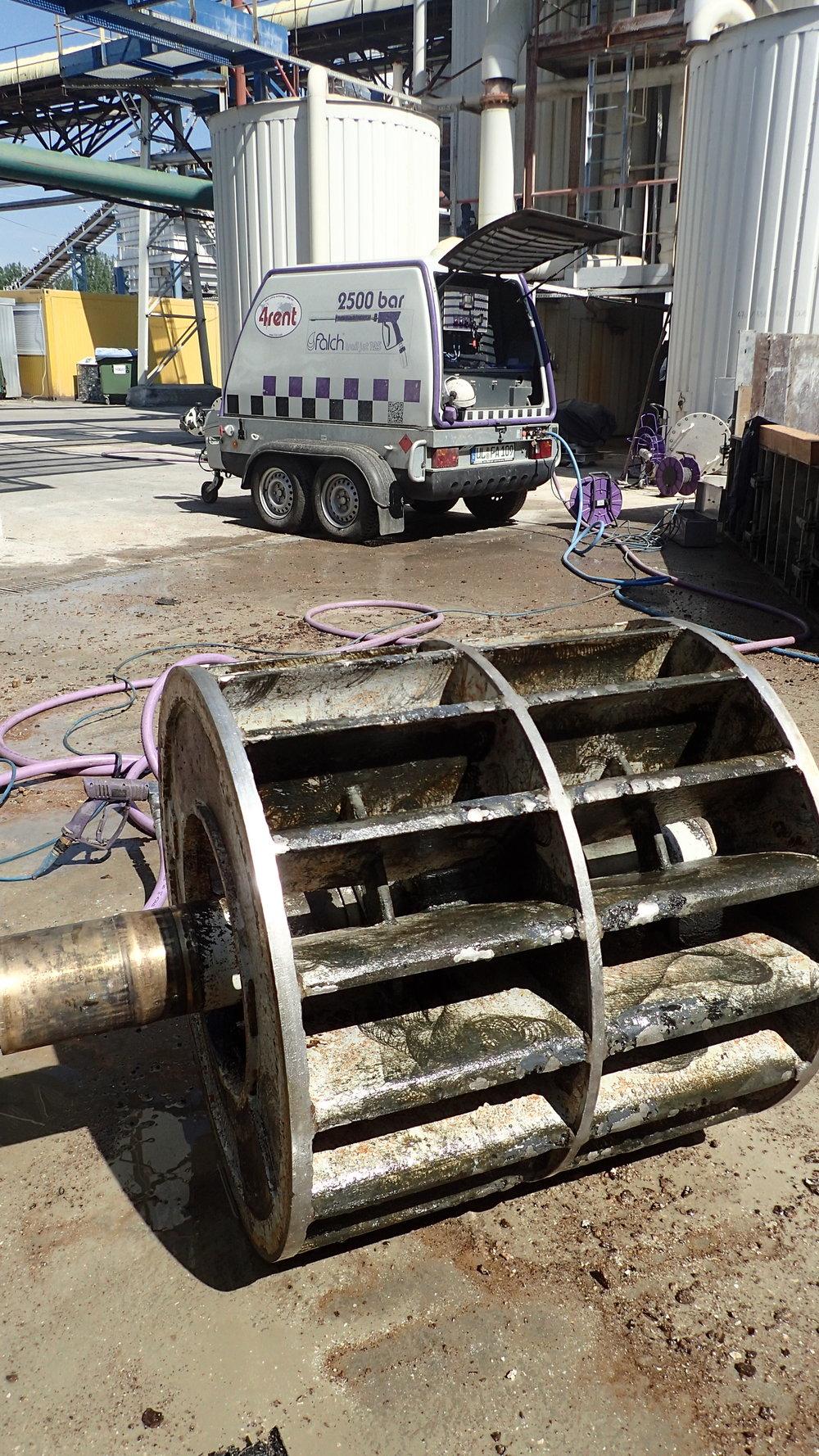 hydroblasting czyszczenie 2500 bar