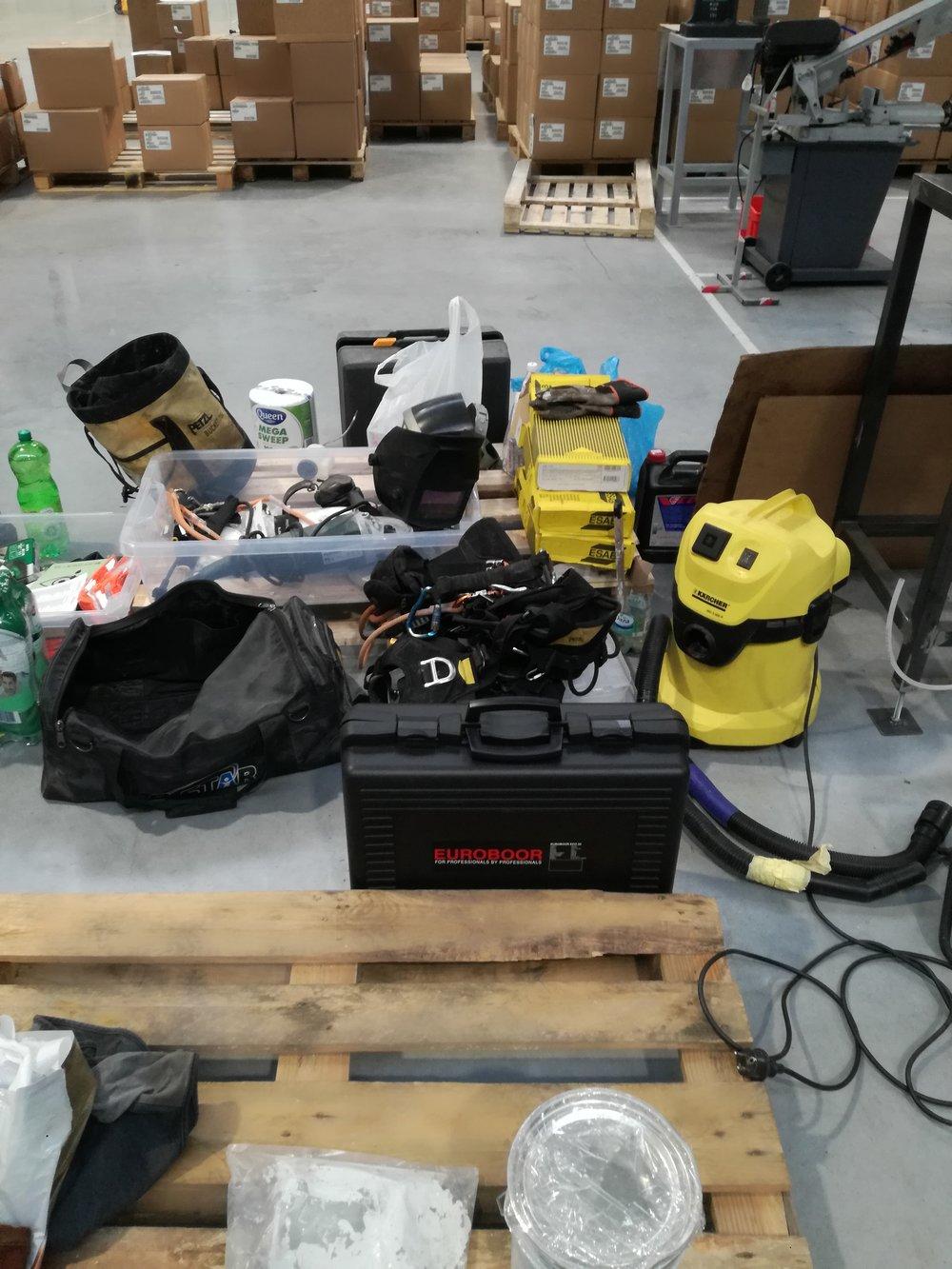 Narzędzia wzmocnienie konstrukcji stalowej