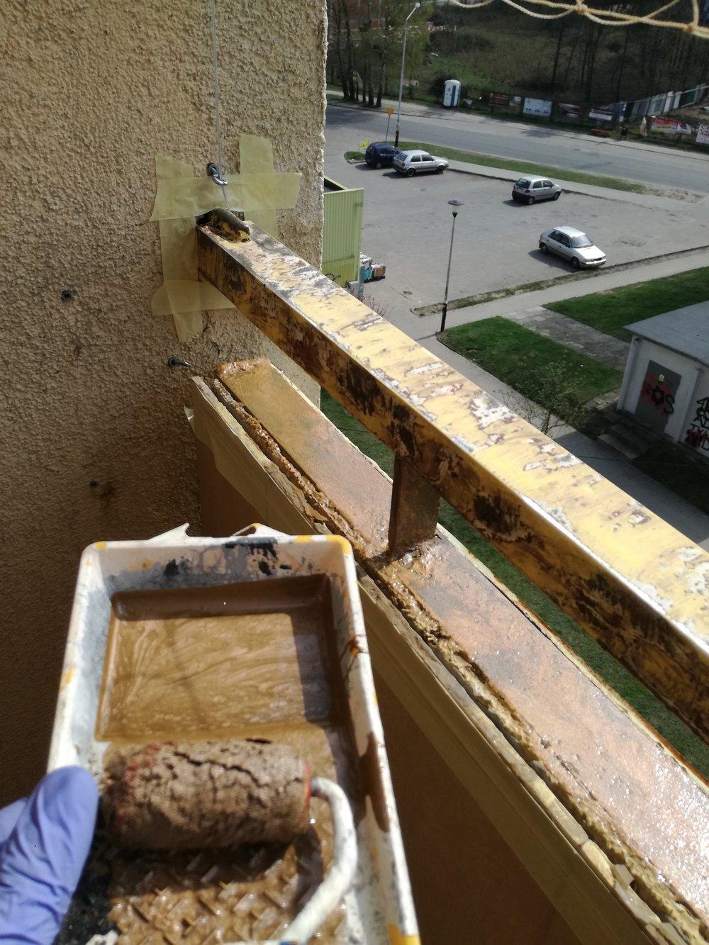 malowanie balkonów