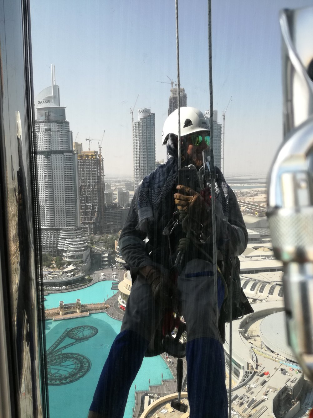 rope access Dubaj