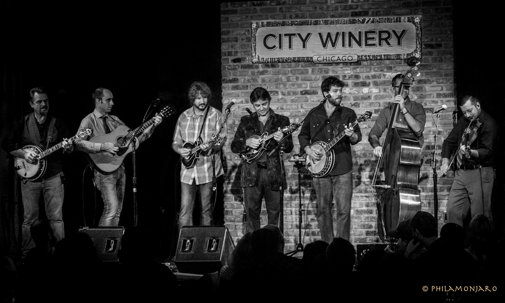 Rob McCoury, Cody Kilby, Drew Emmitt, Ronnie McCoury, Andy Thorn, Alan Bartram and Jason Carter