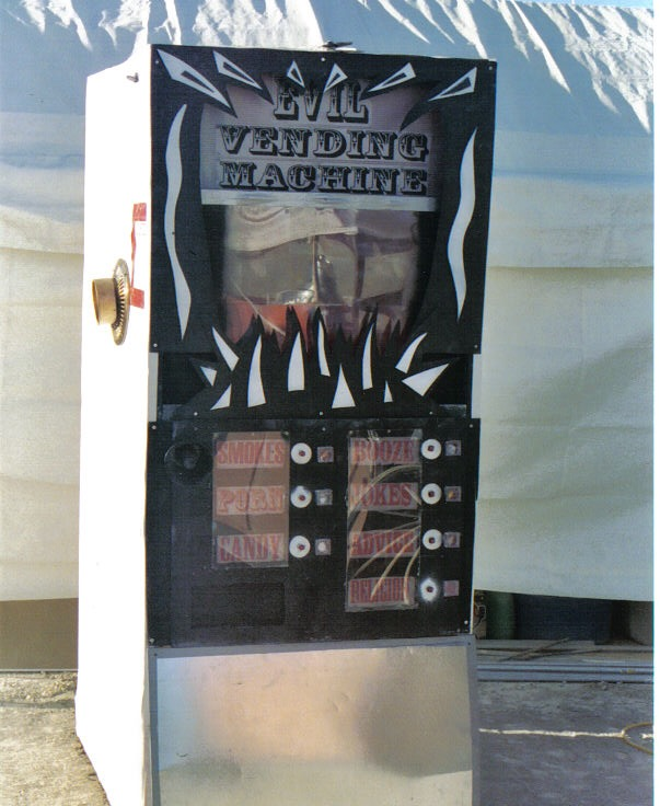 Evil Vending Machine - Interactive Street Theater