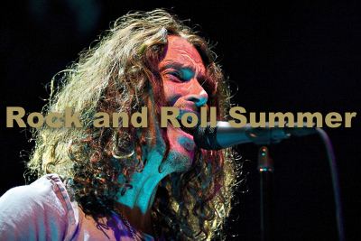"Soundgarden, Chicago, IL, 2010 - Lyle Waisman  11""x14"" $200.00 framed / $150.00 unframed"