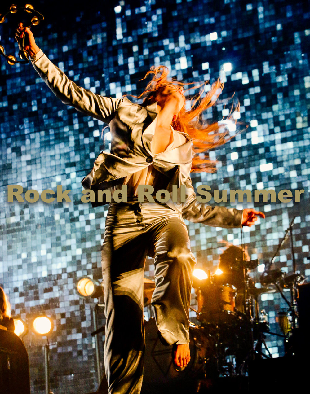 "Florence & the Machine, Chicago, IL, 2015 - Curt Baran  11""x14"" $200.00 framed / $150.00 unframed"
