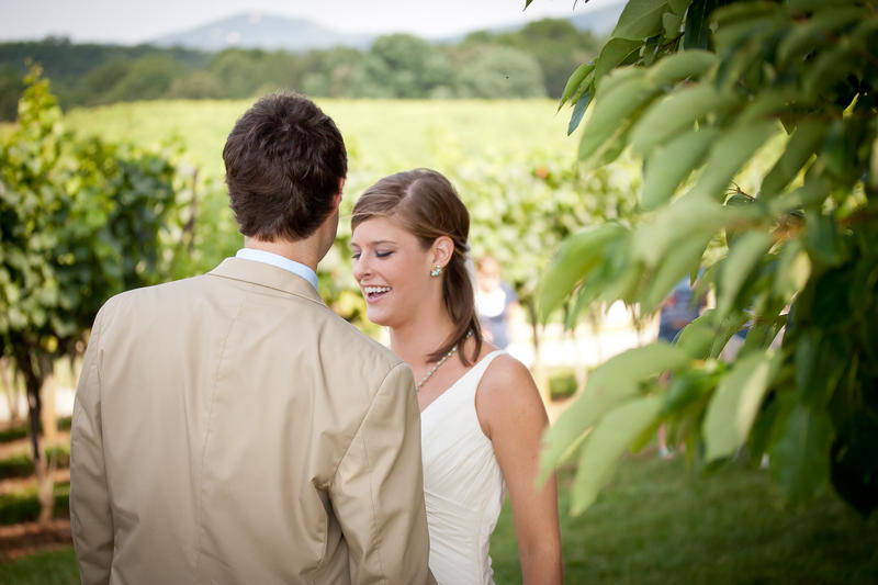 Blackstock Winery Wedding Photos