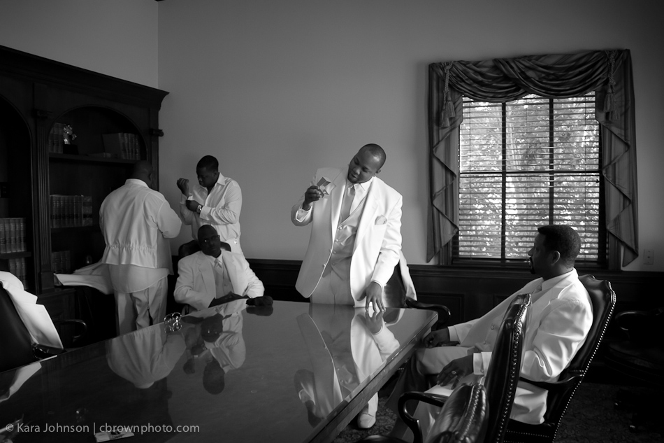 Groomsmen Getting Ready | photo by Sharon McMahon for C Brown Photo