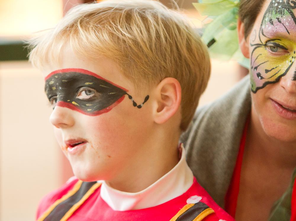 Fairy and Power Ranger Halloween in Pine Lake | Atlanta Event Photographer