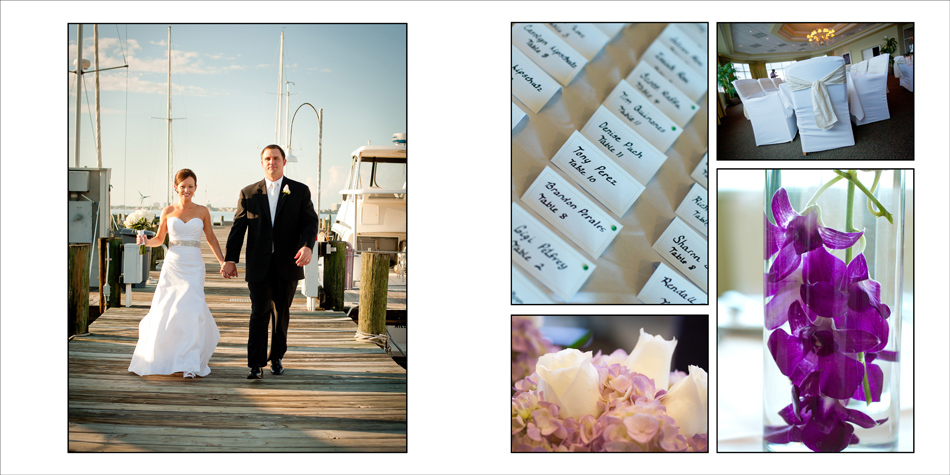 Wedding Album Design | Transiation Spread