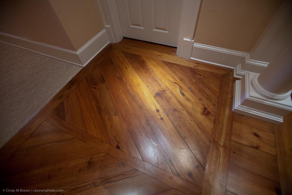 Pine floors Jame Madison Inn