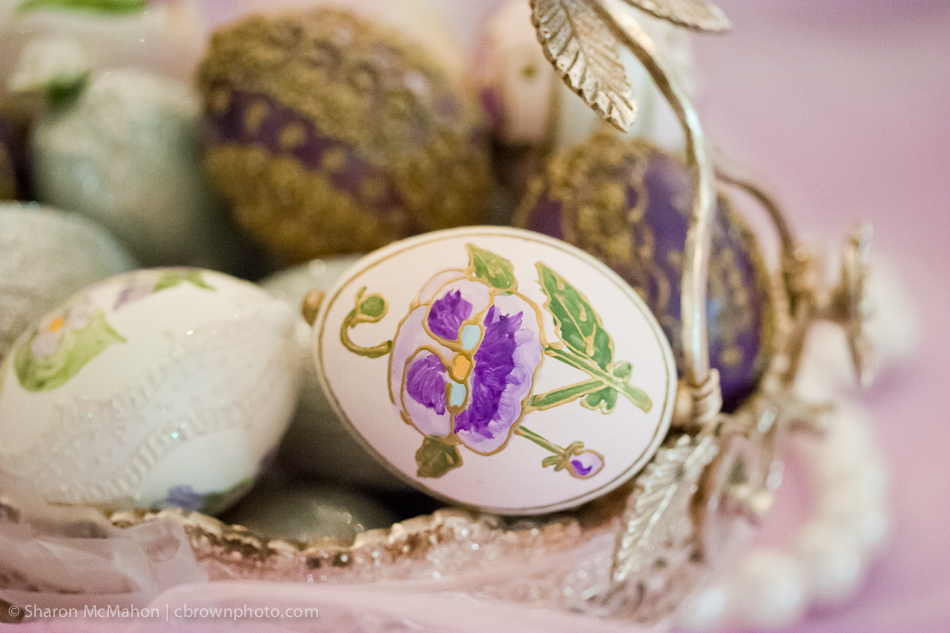 Decorated Eggs at Persian Aghd