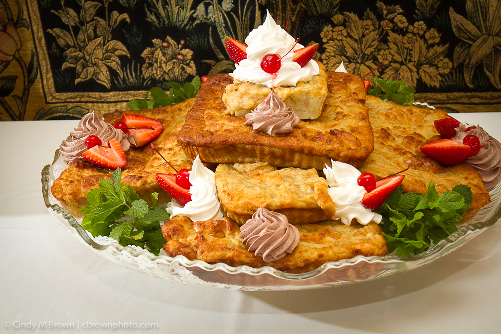 Bread Pudding Groom's Cake