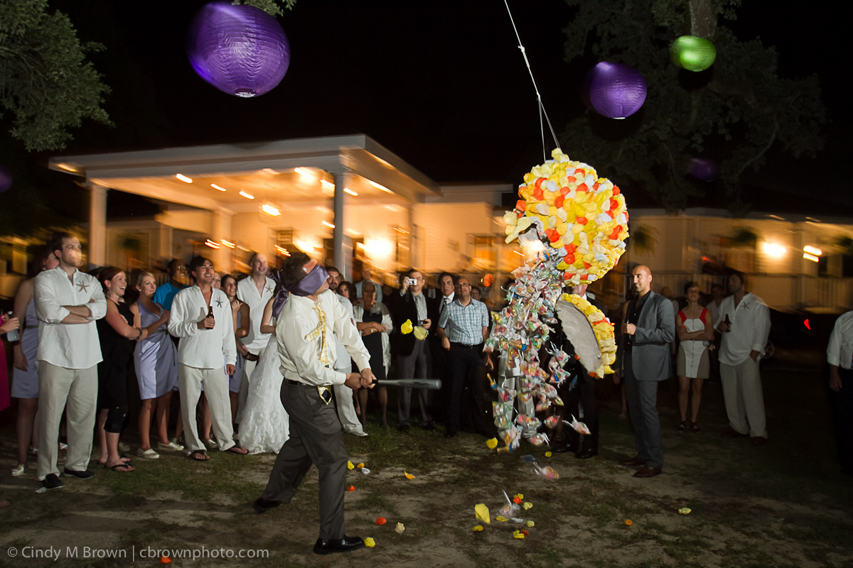 Pinata at Wedding