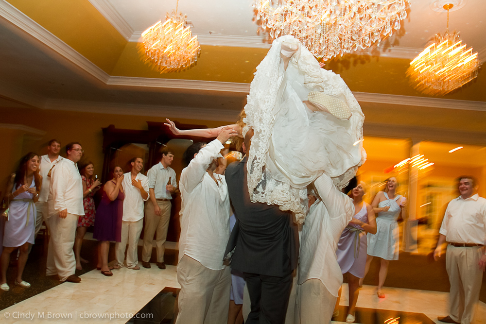Flying Bride -- Award-Winning Wedding Photography