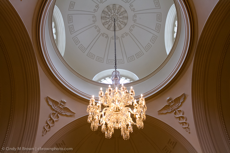 Chandelier at Academy of Medicine