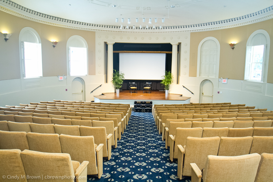 Seated theater at Academy of Medicine