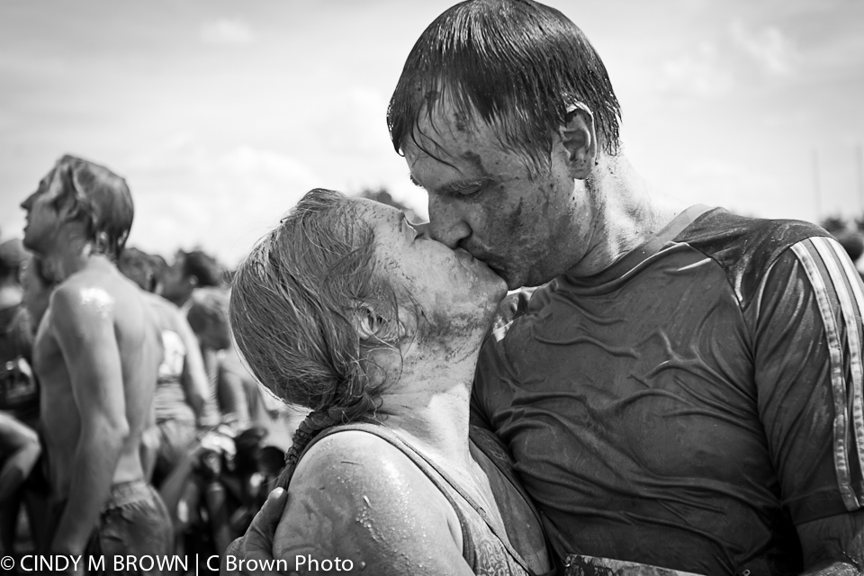 The Muddy Kiss - Atlanta Wedding Photographer