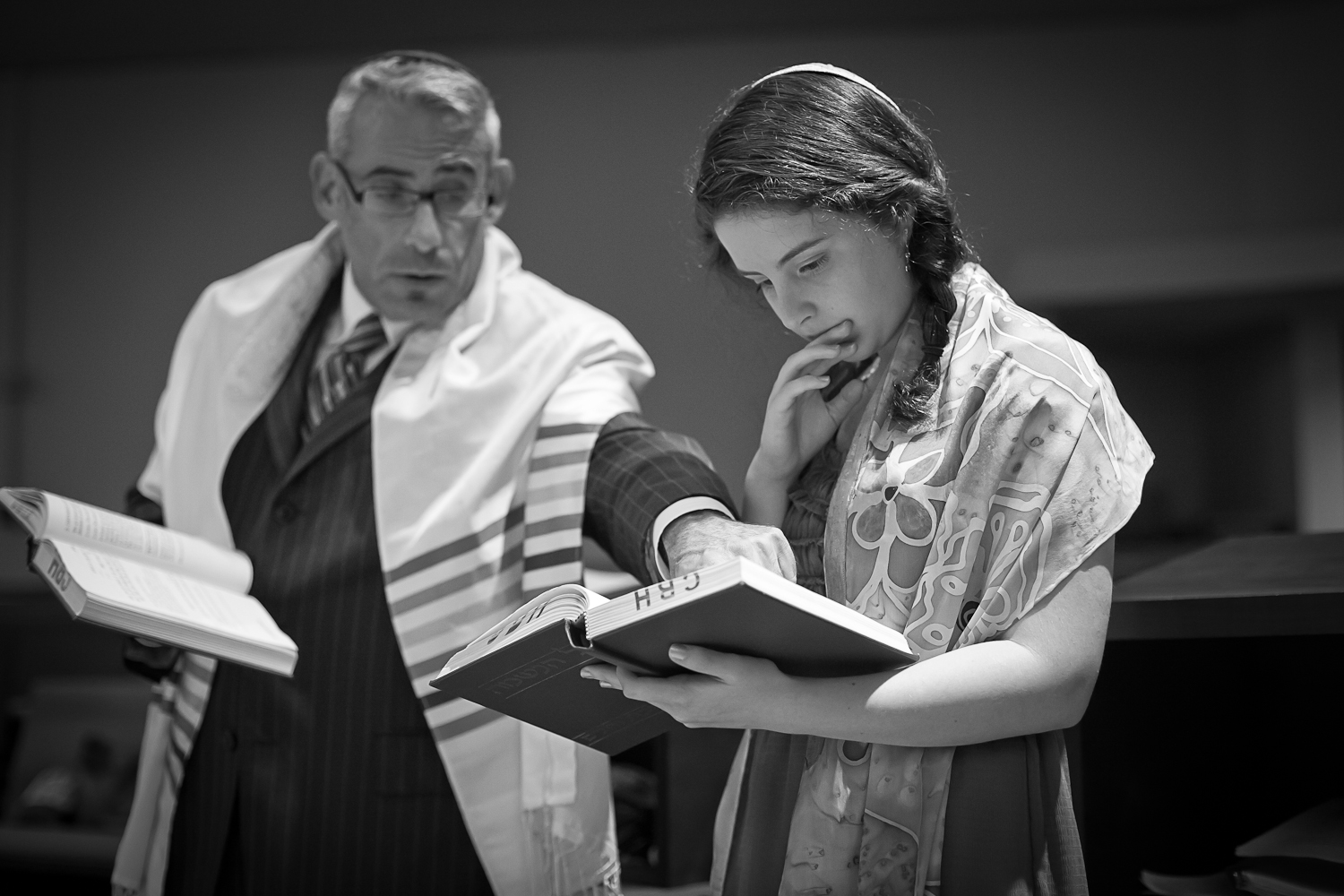 Photgraphy from Bat Mitzvah Rehearsal