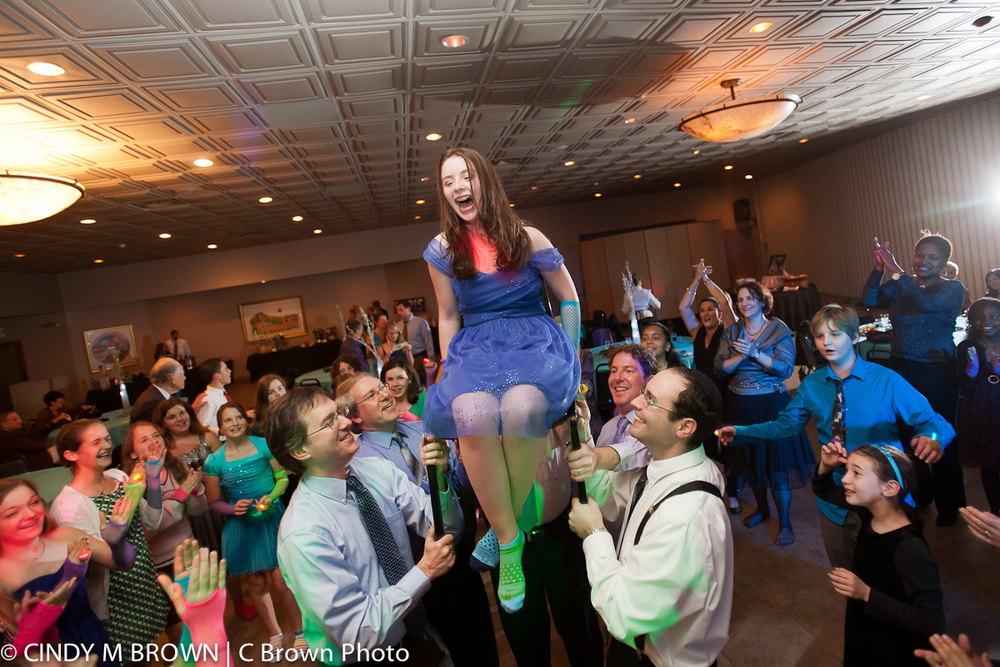 Bat Mitzvah Party Photojournalist