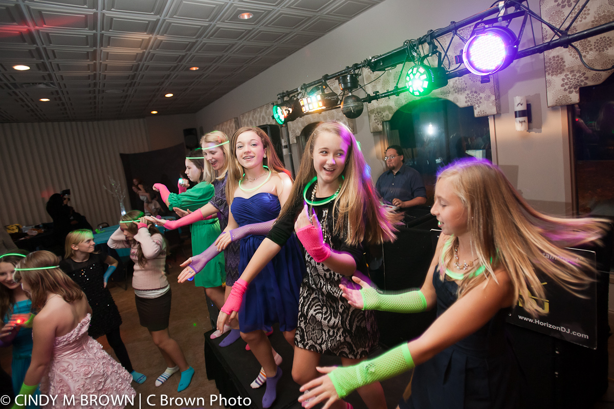 Photojournalism at a Bat Mitzvah