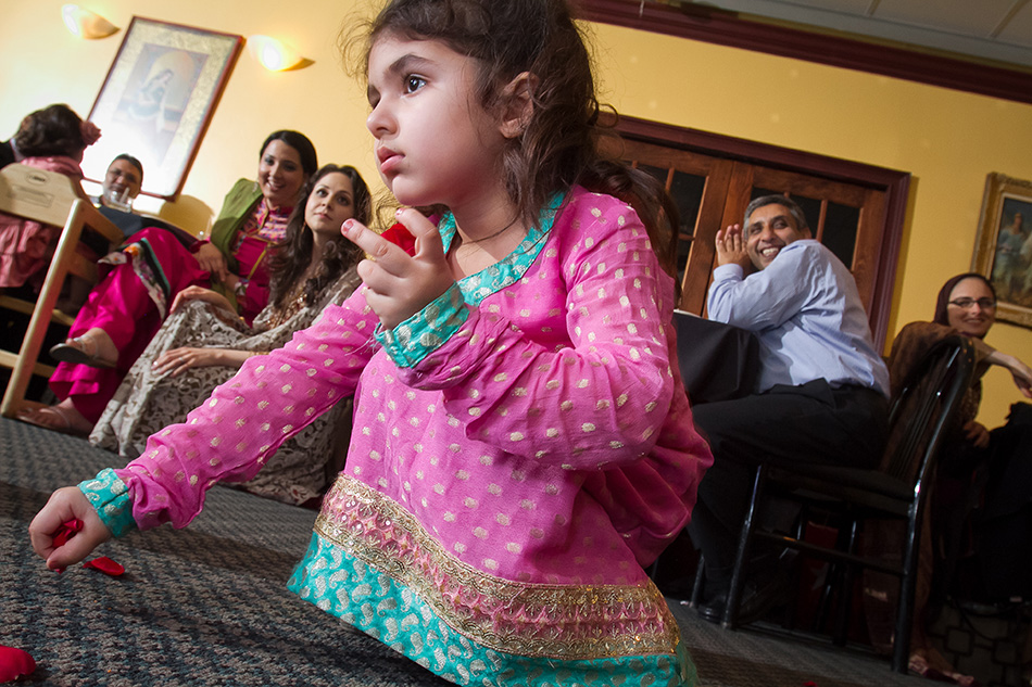 Photograph of child at Muslim Wedding in Atlanta
