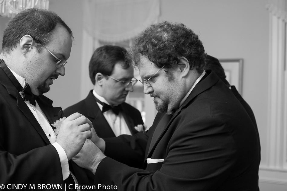 Wedding photojournalist's take on groomsmen getting ready
