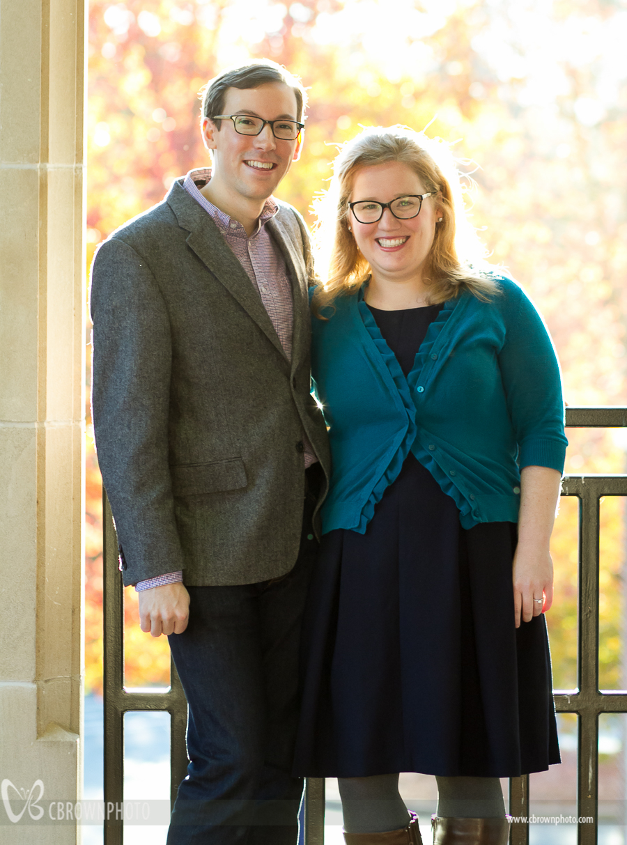 Sarah and Adam at Columbia Seminary