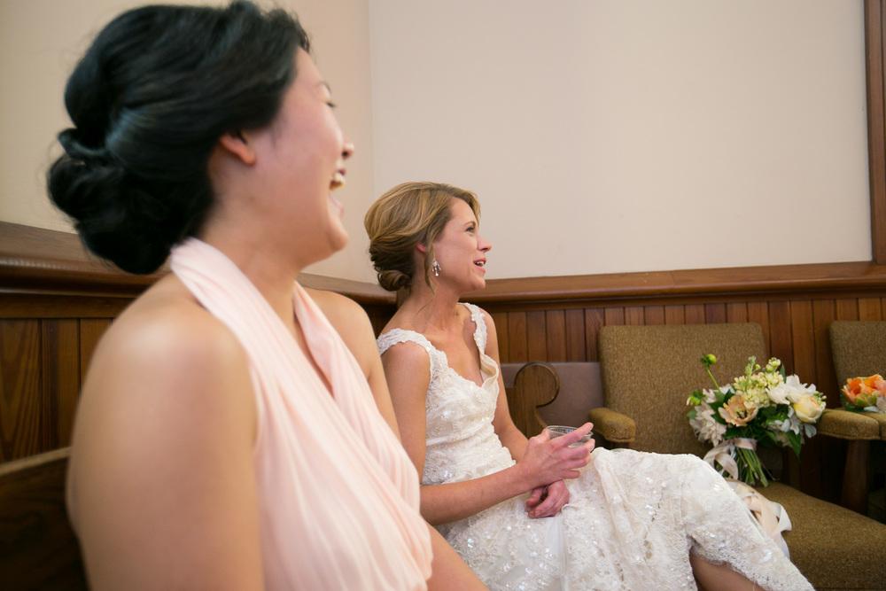 bride-bridesmaid