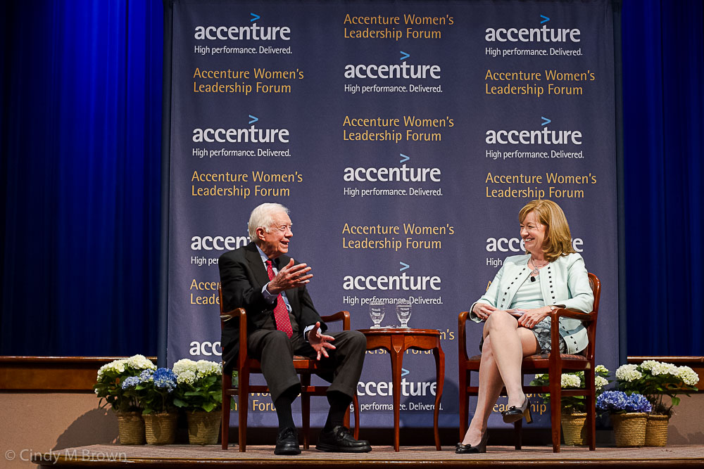 Accenture Jimmy Carter and Women Executives
