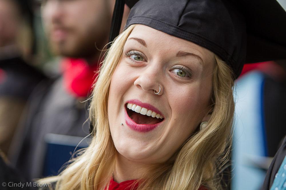 Candler Graduation, Quad Ceremony and Glenn Memorial Ceremony, Karen Scheib teaching award