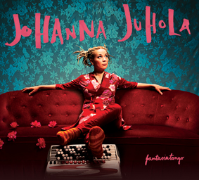 Download print quality CD cover photo  HERE .   JOHANNA JUHOLA: Fantasiatango   TEXCD106, 2010  Listen to the album on  SPOTIFY .