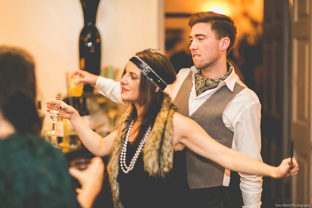 Prohibition gin party