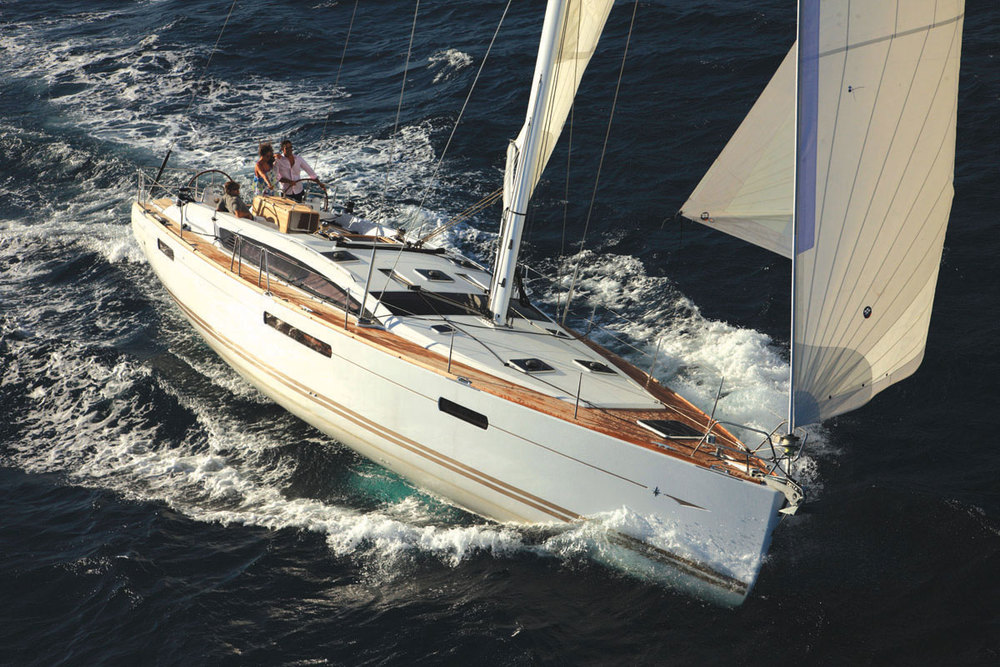 JEANNEAU 53 53 ft Length | Sleeps 10 guests Monohull with air-conditioning, five cabins sleep 10 guests. £985 pp*/week